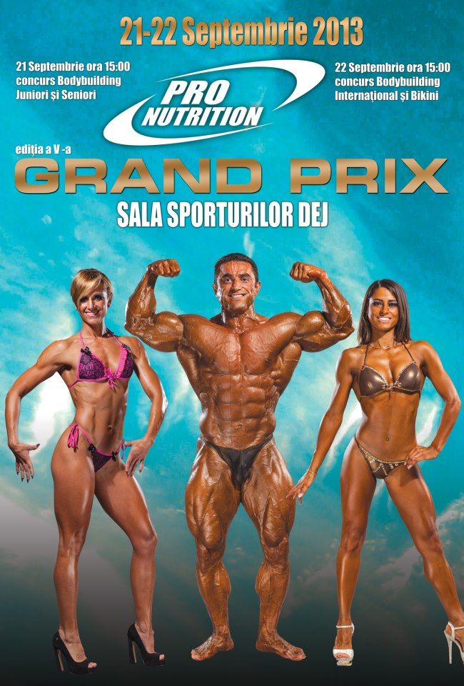 Grand Prix Pro Nutrition Dej
