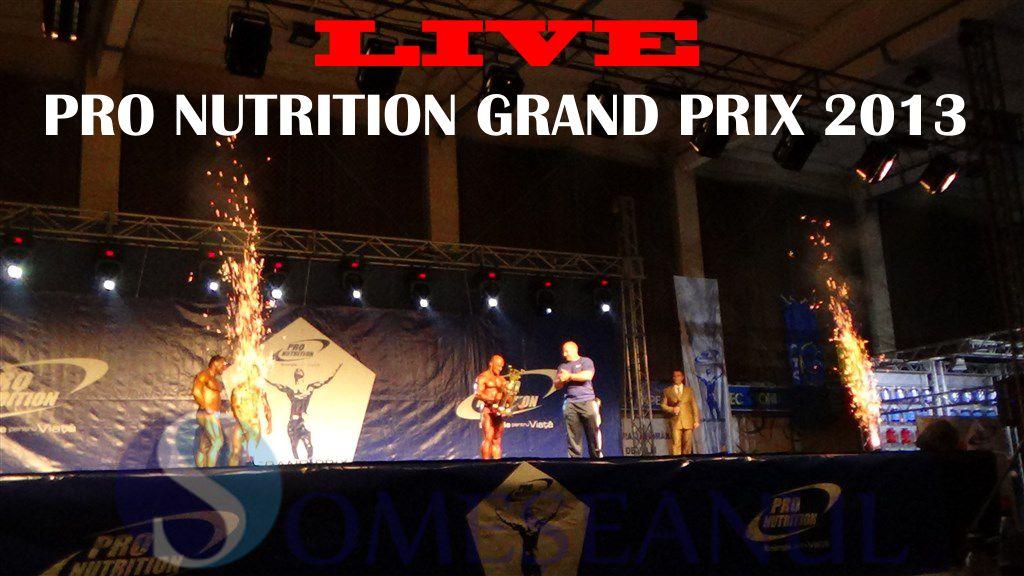 LIVE Pro Nutrition Grand Prix 2013