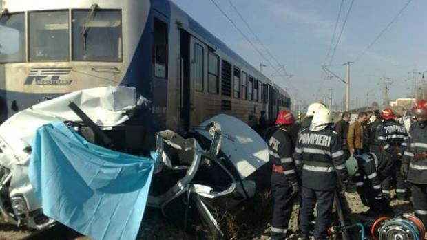 accident feroviar tren