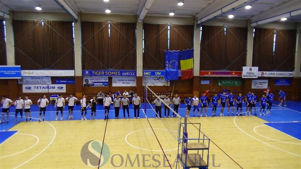Unirea Dej - U Cluj - volei