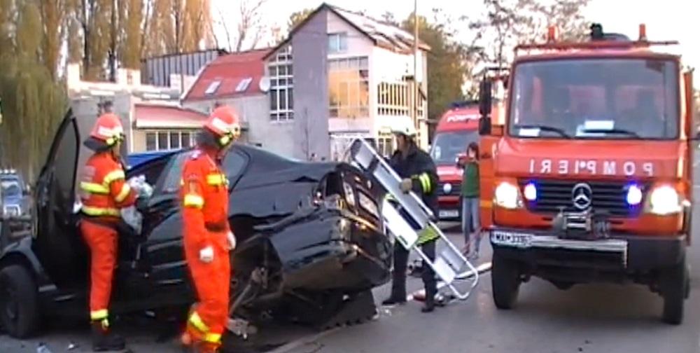 accident masina pompieri