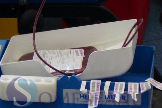 Campanie de donare de sânge la Policlinica Dej. Donezi o dată și poți salva trei vieți