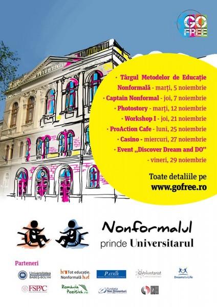 Nonformalul prinde Universitarul Cluj-Napoca Someseanul