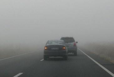 Cod galben de ceață pentru Cluj, Maramureș și Satu Mare