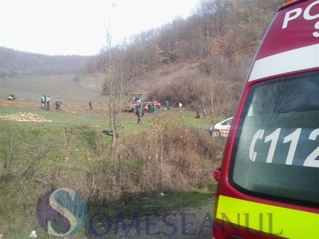 someseanul-accident Mintiu Gherlii tractor