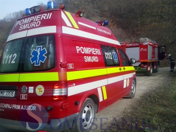 someseanul-accident Mintiu SMURD pompieri