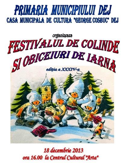 Festival colinde dej