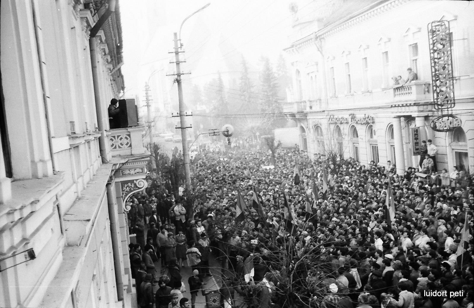 Revolutie decembrie 1989 Dej - 1