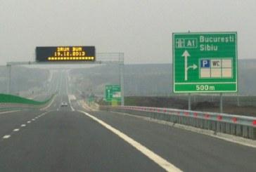 Accident în lanț cu 40 de mașini implicate pe autostrada A1