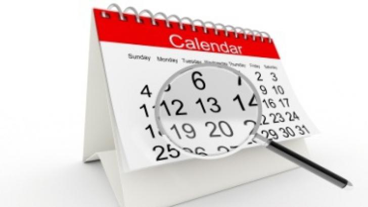 calendar zile libere