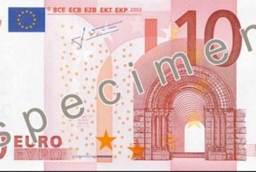 Luna aceasta intră în circulație noile bancnote de 10 euro