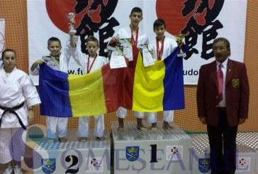 FOTO –  7 medalii de aur, 4 de argint şi 5 de bronz obținute de karateka dejeni la Cupa Mondială din Polonia