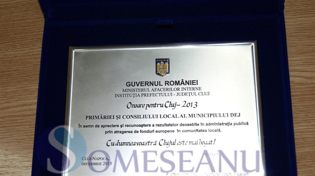 someseanul-Onoare pentru Cluj-2013-Primaria Dej