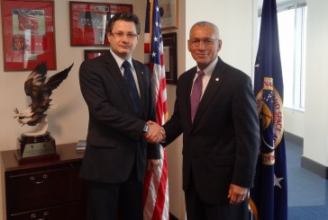 Ministrul delegat Mihnea Costoiu s-a întâlnit cu administratorul NASA