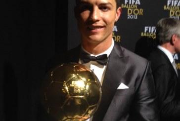 Cristiano Ronaldo a câştigat Balonul de Aur FOTO