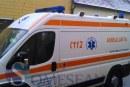 Pieton lovit de mașină, pe drumul comunal Valea Glodului