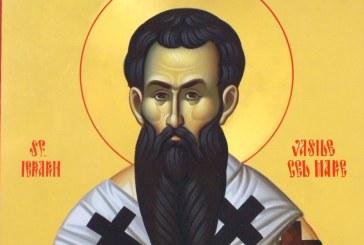 Sfântul Vasile, păzitor de duhuri rele, sărbătoritul primei zile a noului an