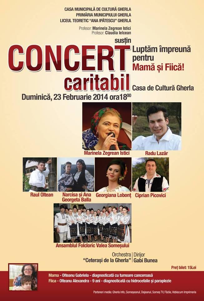 concert caritabil gherla