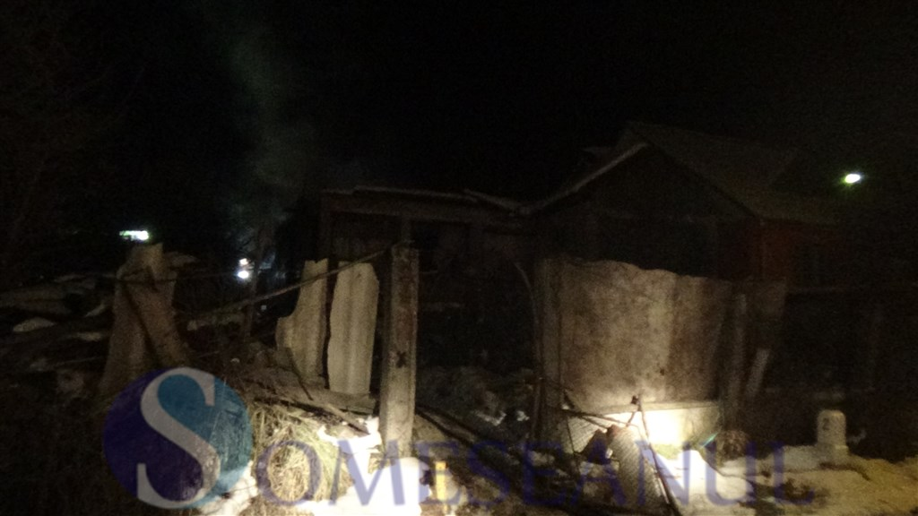 someseanul-incendiu Dej str Baia Mare