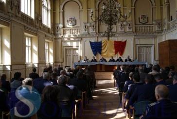 Sedința Autorității Teritoriale de Ordine Publică Cluj, la Primăria Dej FOTO