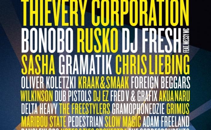 Die Antwoord, Sasha și Gramatik încheie line-up-ul la Electric Castle 2014