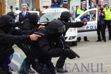 Descinderi a polițiștilor gherleni și a trupelor speciale la Așchileu