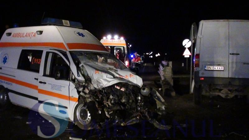 accident Ambulanta Dej (2)
