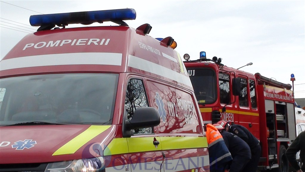 accident dn1c-urisor smurd-pompieri