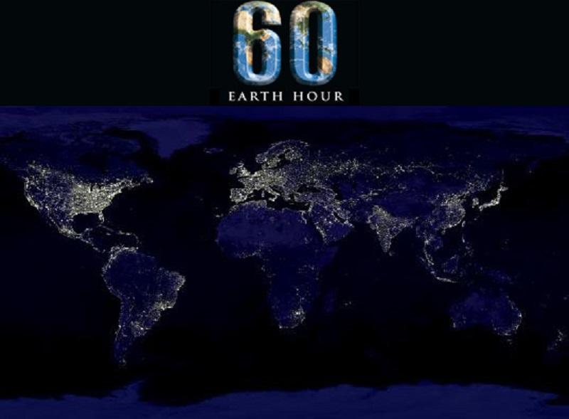 earthhourandglobalmap-ora pamantului