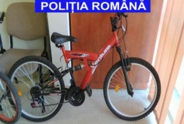 Tânăr, bănuit de furtul unei biciclete, identificat de polițiști