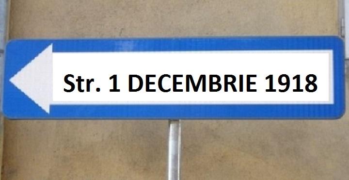 strada 1 decembrie 1918