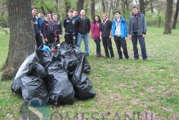 Campania Someș-Ecologizarea  a adunat zeci de saci de deșeuri FOTO/VIDEO