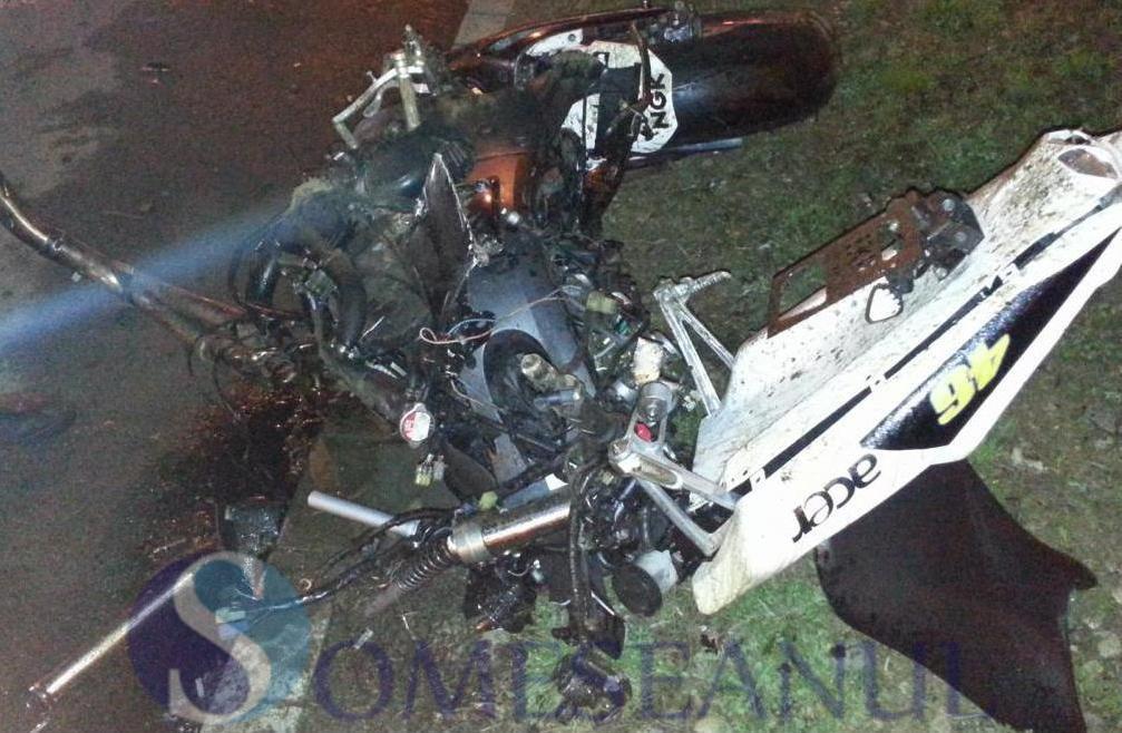 Un motociclist și-a pierdut viața la Șintereag