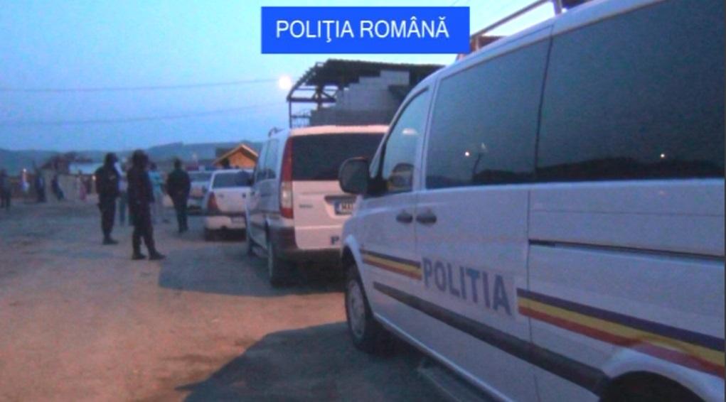 actiune politia romana perchezitii