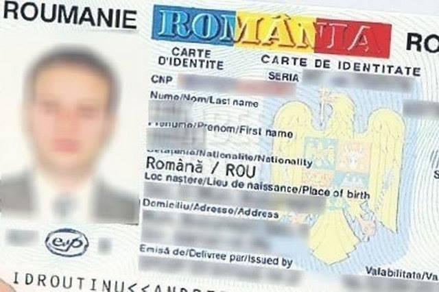buletin electronic - carte de identitate