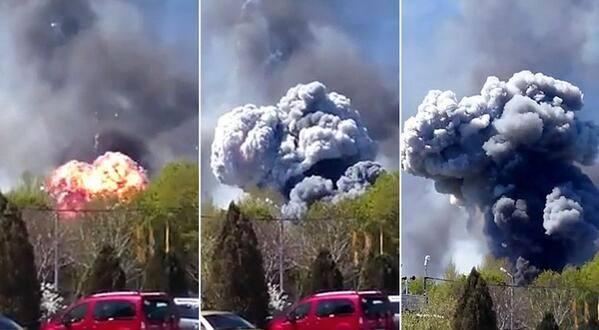 elicopter explodat ucraina