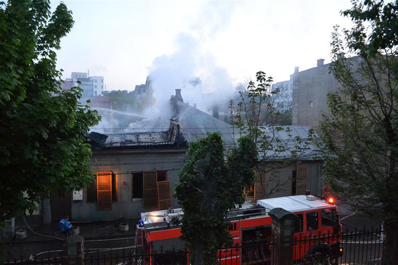 incendiu restaurant cluj