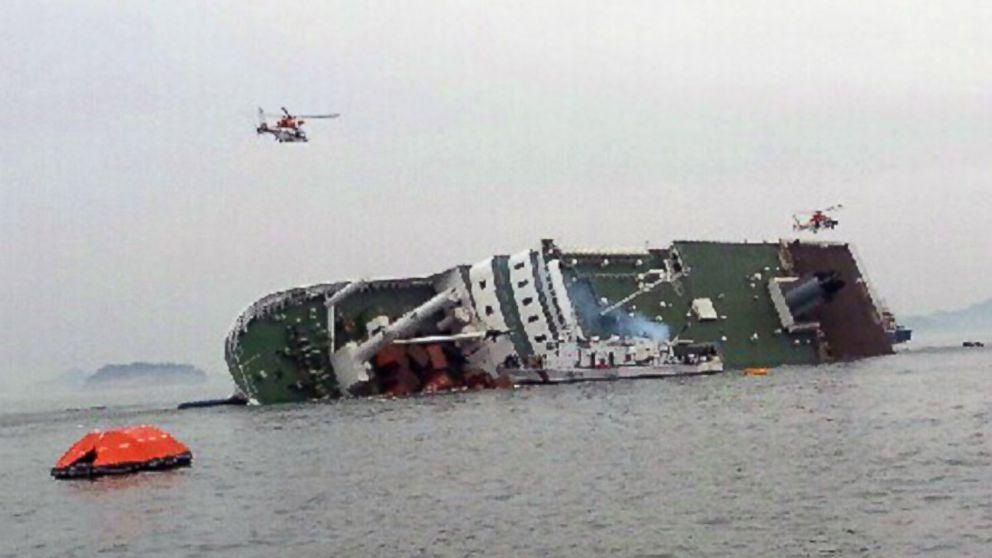 naufragiu corea de sud