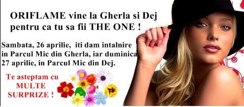 Oriflame vine la Gherla și Dej (P)