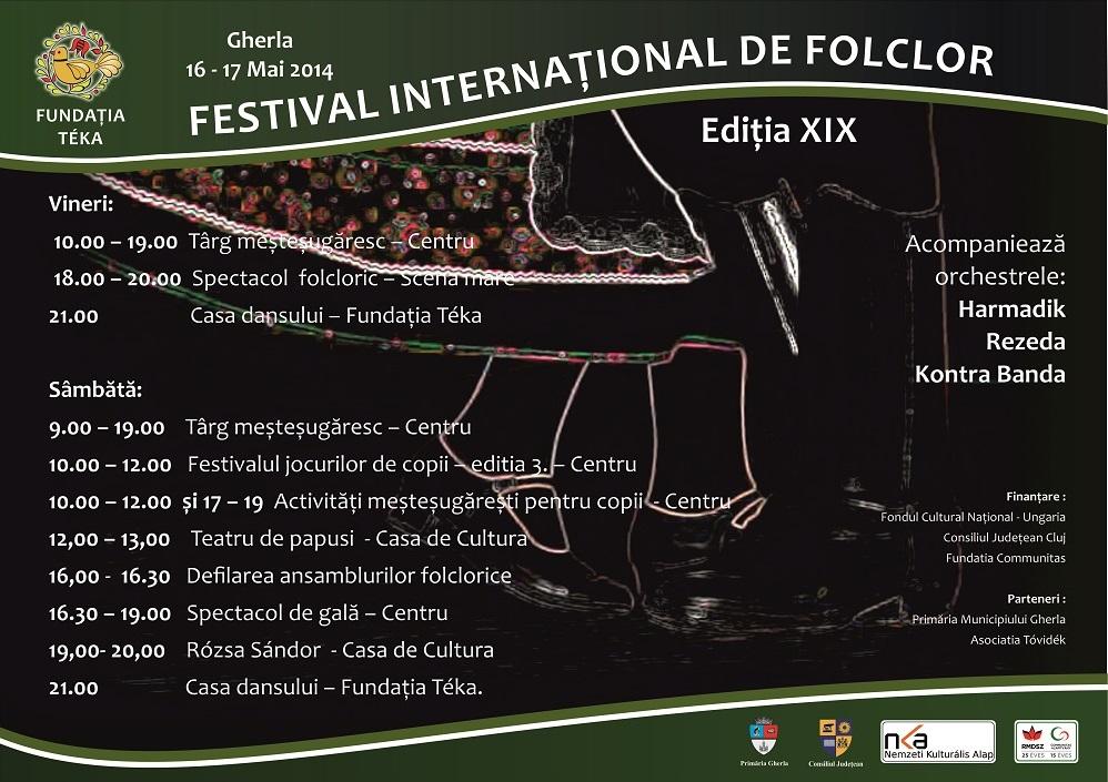Festival folclor Teka Gherla