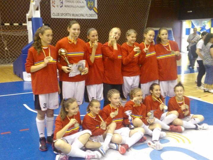 LAPI Dej campioana Romaniei la baschet U13