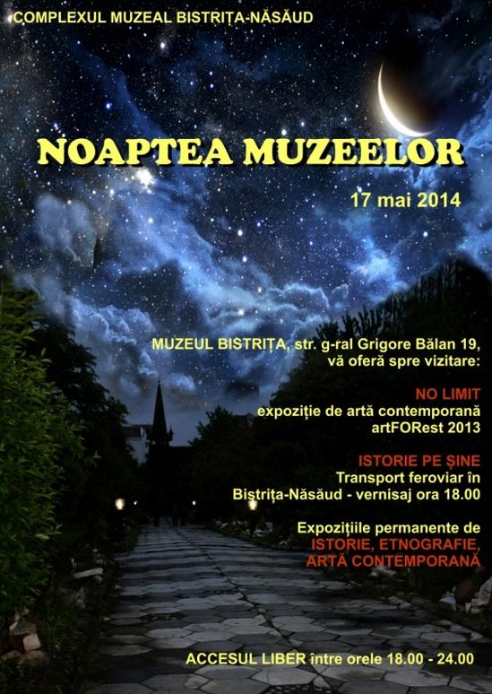Noaptea muzeelor Bistrita 2014