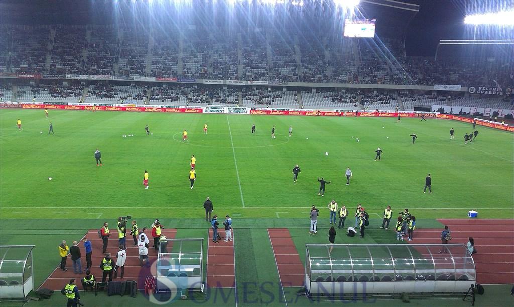 U Cluj - Steaua Bucuresti fotbal Liga 1