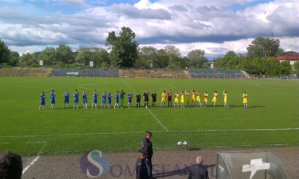 Unirea Dej - FC Zalau playout fotbal