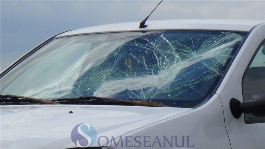 accident Ciceu Mihaiesti pieton lovit (1)