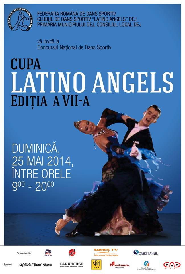 afis cupa latino angels dans sportiv 2014