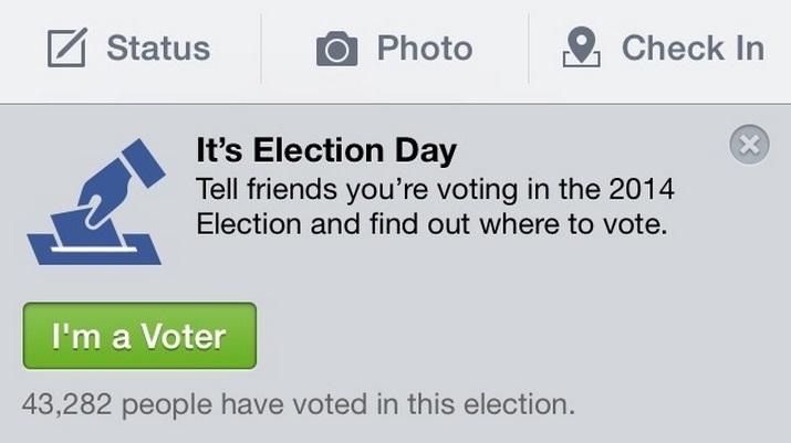 facebook app im a voter