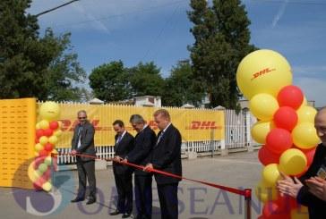 """FOTO – DHL a lansat azi un nou terminal la Aeroportul """"Avram Iancu"""" din Cluj-Napoca"""