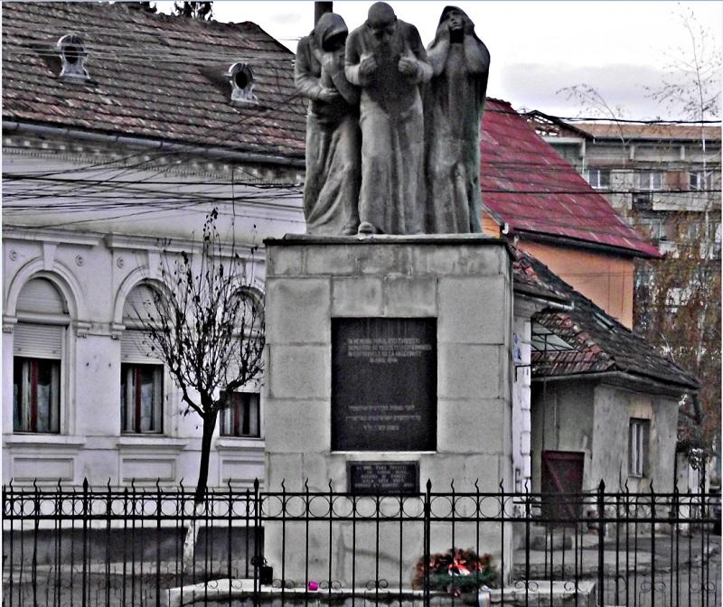 monumentul evreilor deportati Dej