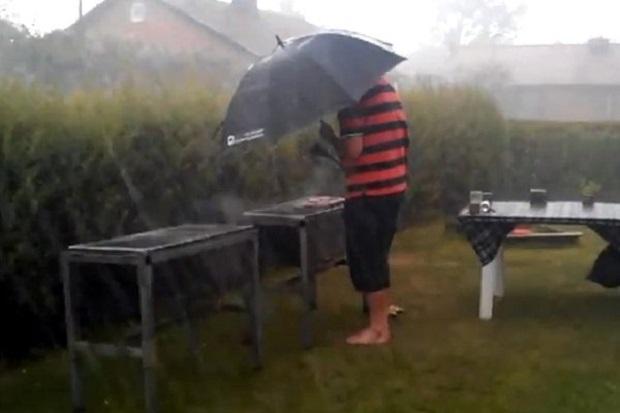 picnic ploaie